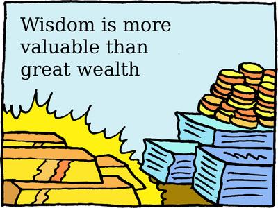 Wealth, Wisdom and a Common Sense Legacy – Part 2 (Nov 2010)
